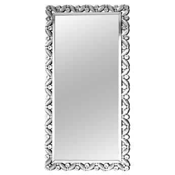 Lustro ażurowa rama z kryształkami 90x174 cm JS91