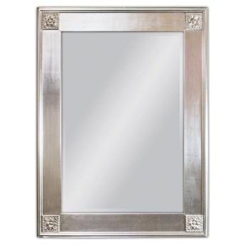 Lustro w srebrnej oprawie 85x114 cm SZ21242