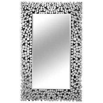 Lustro z kryształkami w stylu glamour 80x120 cm 16JZ03