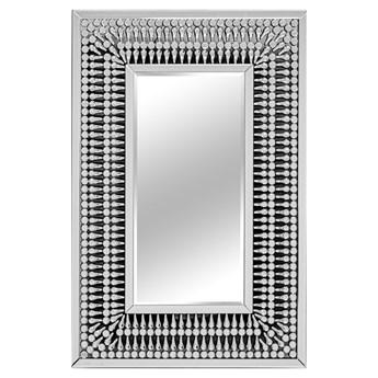 Lustro w ażurowej oprawie z kryształków 80x120 cm 16JZ113