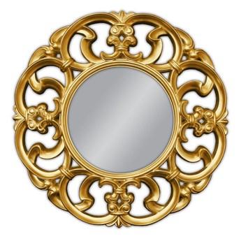 Ozdobne okrągłe lustro Ø100 cm PU087