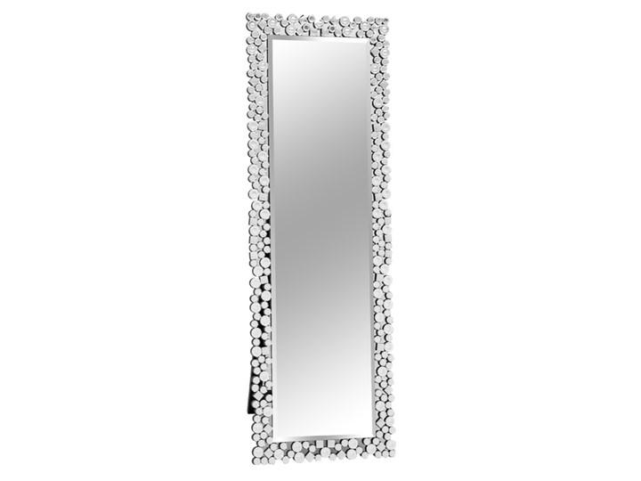 Lustro stojące z kryształkami w stylu glamour 50x150 cm 16JZ03 Kategoria Donice ogrodowe Okrągły Kolor Szary