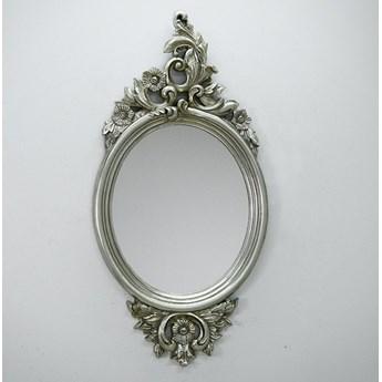 Wytworne srebrne lustro 61x123 cm PU050