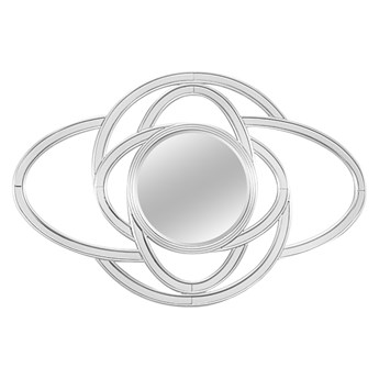 Designerskie lustro okręgi 78x118 cm JZ0261