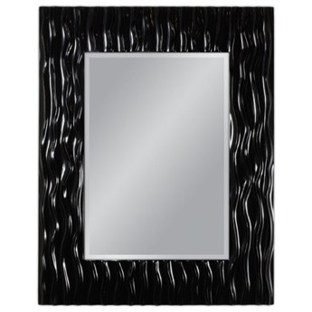 Lustro w czarnej oprawie 78x98 cm PU121-1