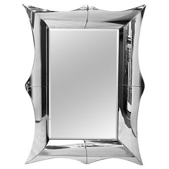 Lustro w finezyjnej giętej oprawie lustrzanej 83x107 cm LW4211/16TM4211