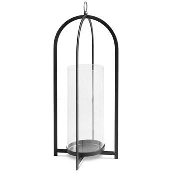 Szklany czarny świecznik Ø20x61,5 cm TOYJ19-161