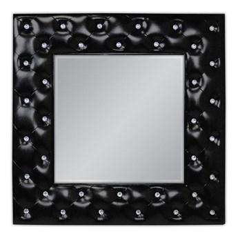 """""""Pikowane"""" lustro z kryształkami 98x98 cm PU-126"""