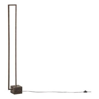 Beliani Lampa podłogowa drewniana nowoczesna dekoracyjna ozdobna stojąca do salonu do sypialni nowoczesna skandynawska