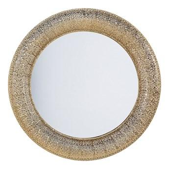 Beliani Lustro wiszące ścienne złote 80 cm