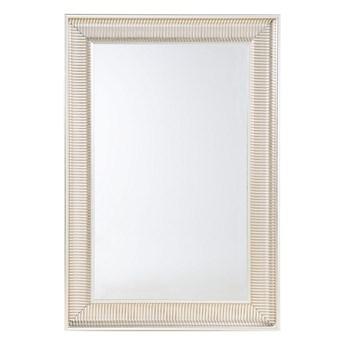 Beliani Lustro wiszące złote 60 x 90 cm syntetyczna rama styl nowoczesny glam