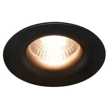 Oczko sufitowe Starke Ø7 cm czarne