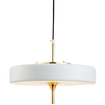 Lampa wisząca Chicago Ø36x30 cm biało-złota