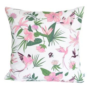LITTLE DREAMS Poszewka dekoracyjna - Różowe Kolibry LITTLE DREAMS