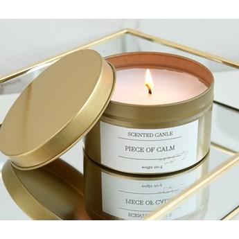 Sinsay - Świeca zapachowa Piece of Calm - Złoty