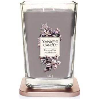 Świeca zapachowa duża kwadratowa z 2 knotami Yankee Candle Evening Star