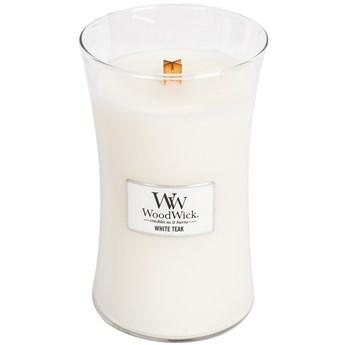 Świeca zapachowa duża Woodwick White Teak