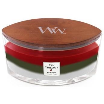 Świeca zapachowa Elipsa Trilogy Woodwick Winter Garland