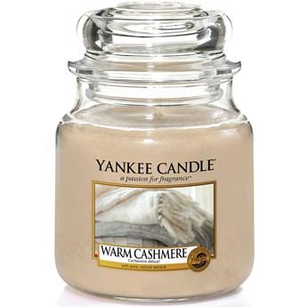 Świeca zapachowa średnia Yankee Candle Warm Cashmere