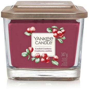 Świeca zapachowa z 3 knotami Yankee Candle Candied Cranberry