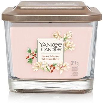 Świeca zapachowa z 3 knotami Yankee Candle Snowy Tuberose