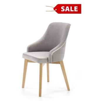 Krzesło Toledo  2 jasny szary  OUTLET -10% dąb miodowy / solo 265 jasny szary