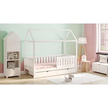 Łóżko domek parterowe Dora 2 Certyfikat Kolor Biały