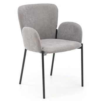Nowoczesne krzesło do jadalni z podłokietnikami K445