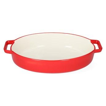 BAKER Naczynie do zapiekania czerwone 36x22 cm - Homla