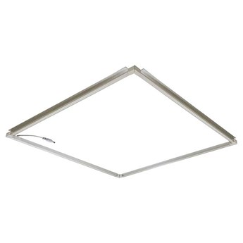 Ramka do sufitu podwieszanego PROBUS 310149 Polux podtynkowa OPRAWA wpust LED 40W 4000K do zabudowy aluminium biały