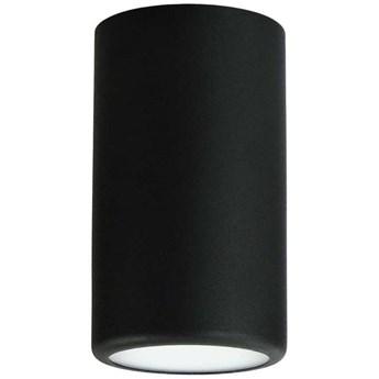 Nowoczesna LAMPA sufitowa 137623612922 TEAM okrągła OPRAWA natynkowa tuba spot metalowy czarny