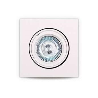 Oczko LAMPA podtynkowa H0039 Maxlight sufitowa OPRAWA kwadratowa wpust biały