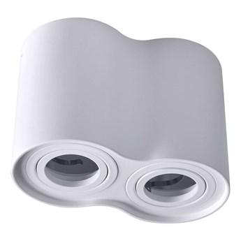 Downlight LAMPA sufitowa HADAR R2 313157 Polux regulowana OPRAWA metalowy spot tuby białe