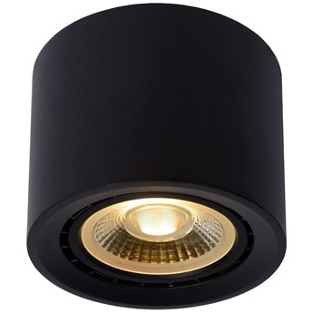 Downlight LAMPA sufitowa FEDLER 09921/12/30 Lucide metalowa OPRAWA tuba spot czarny