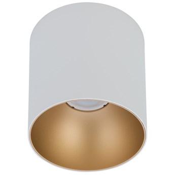 LAMPA sufitowa POINT TONE 8221 Nowodvorski metalowa OPRAWA downlight tuba spot biały złoty