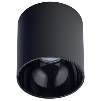 Sufitowa LAMPA tuba POINT TONE 8225 Nowodvorski metalowy plafon okrągły spot czarny