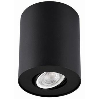 LAMPA sufitowa PILAROS LS-DW001-CZARNA Auhilon regulowana tuba metalowa downlight czarny