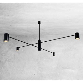 LAMPA sufitowa DAKATA 5636 Shilo metalowa OPRAWA tuby czarne