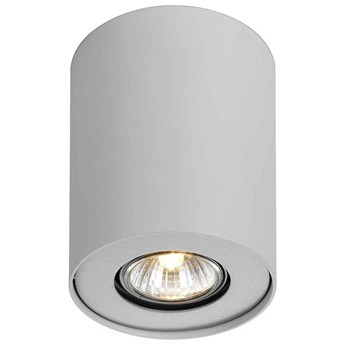 Natynkowa LAMPA sufitowa SHANNON FH31431B-WH Italux downlight OPRAWA metalowa tuba biała