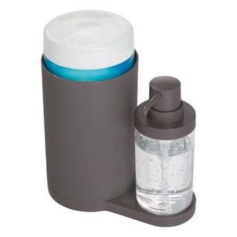 Szary zestaw do mycia rąk iDesign Clean