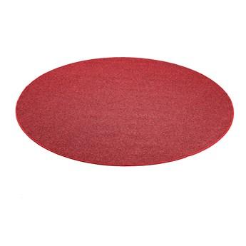 Okrągła mata do zabawy MAX, Ø2000 mm, czerwony
