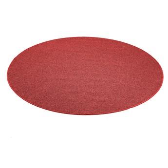 Okrągła mata do zabawy MAX, Ø2500 mm, czerwony