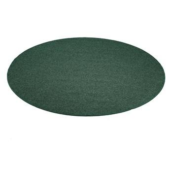 Okrągła mata do zabawy MAX, Ø2500 mm, zielony