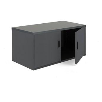 Szafka biurowa MODULUS, 400x800x400 mm, czarny