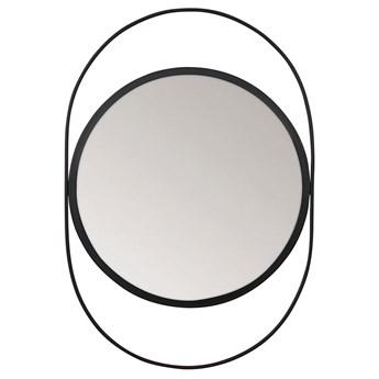 SELSEY Lustro wiszące Ruanys 31x45 cm czarne