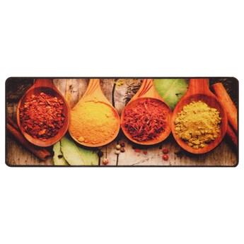 SELSEY Dywanik do kuchni Naesti z motywem przypraw 50x120 cm kolorowy