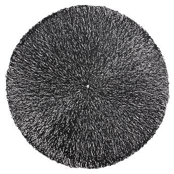 SELSEY Podkładka pod talerz Farblos średnica 38 cm czarna
