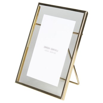 SELSEY Ramka na zdjęcia Narn metalowa 15x20 cm złota