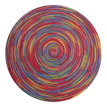 SELSEY Podkładka pod talerz Karrins okrągła średnica 38 cm wielobarwna
