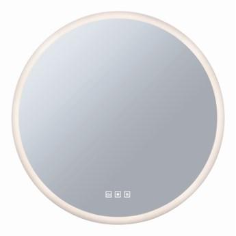 SELSEY Lustro ścienne Itacaiunas LED średnica 60 cm okrągłe